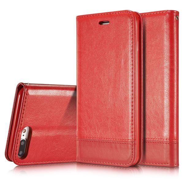 NALIA Klapphülle kompatibel mit iPhone 8 Plus / 7 Plus, Slim Kickstand Handyhülle Flip-Case Kunst-Leder Cover Magnet Etui Schutz Dünne Rundum Handy-Tasche Bumper – Bild 23