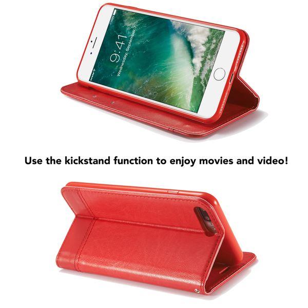 iPhone 8 Plus / 7 Plus Hülle Klapphülle von NALIA, Slim Kickstand Handyhülle Flip-Case Kunst-Leder Cover Magnet Etui Schutz Dünne Rundum Handy-Tasche Bumper für Apple i-Phone 7+ / 8+ – Bild 24