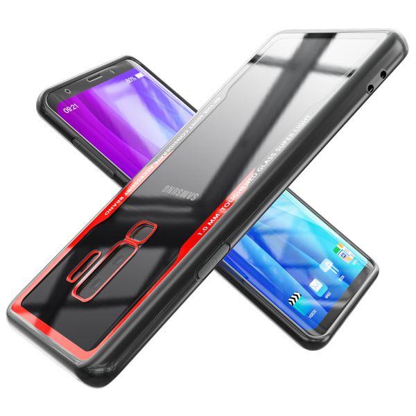 NALIA Hülle kompatibel mit Samsung Galaxy S9 Plus, Ultra-Slim Handyhülle Cover Case Etui Handy-Tasche, Backcover Transparent Schutzhülle Hardcase Klar Dünn Skin Smart-Phone Bumper – Bild 9