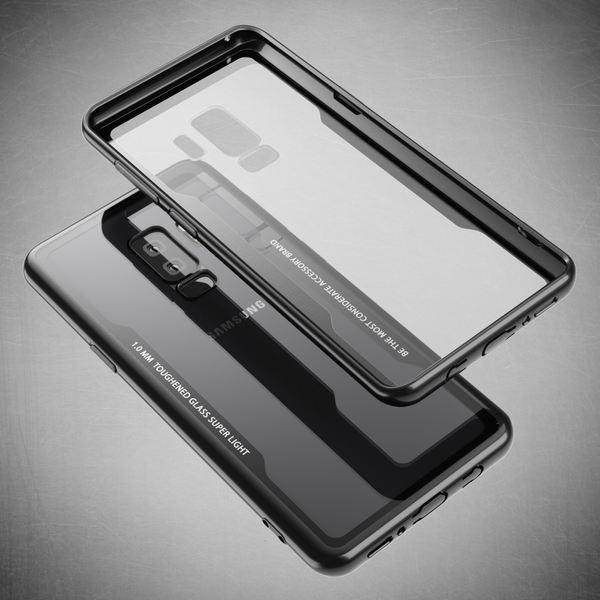 NALIA Hülle kompatibel mit Samsung Galaxy S9 Plus, Ultra-Slim Handyhülle Cover Case Etui Handy-Tasche, Backcover Transparent Schutzhülle Hardcase Klar Dünn Skin Smart-Phone Bumper – Bild 5