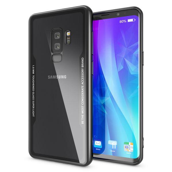 NALIA Hülle kompatibel mit Samsung Galaxy S9 Plus, Ultra-Slim Handyhülle Cover Case Etui Handy-Tasche, Backcover Transparent Schutzhülle Hardcase Klar Dünn Skin Smart-Phone Bumper – Bild 8