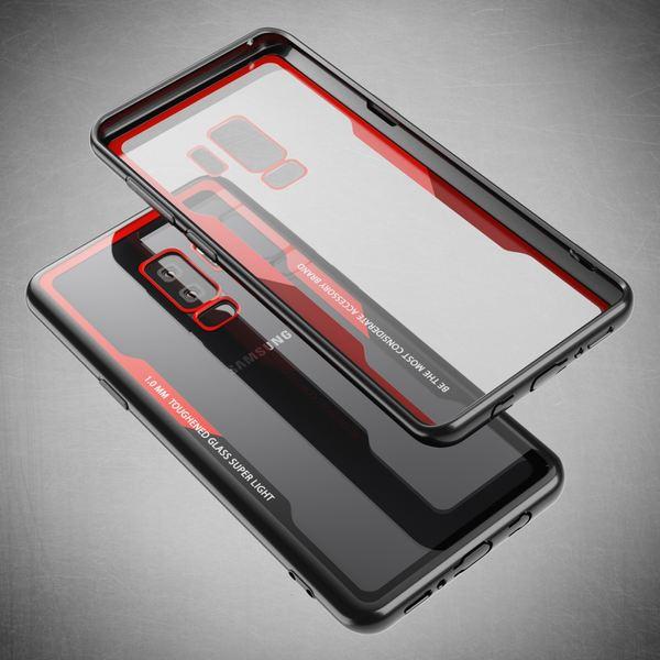 NALIA Hülle kompatibel mit Samsung Galaxy S9 Plus, Ultra-Slim Handyhülle Cover Case Etui Handy-Tasche, Backcover Transparent Schutzhülle Hardcase Klar Dünn Skin Smart-Phone Bumper – Bild 12