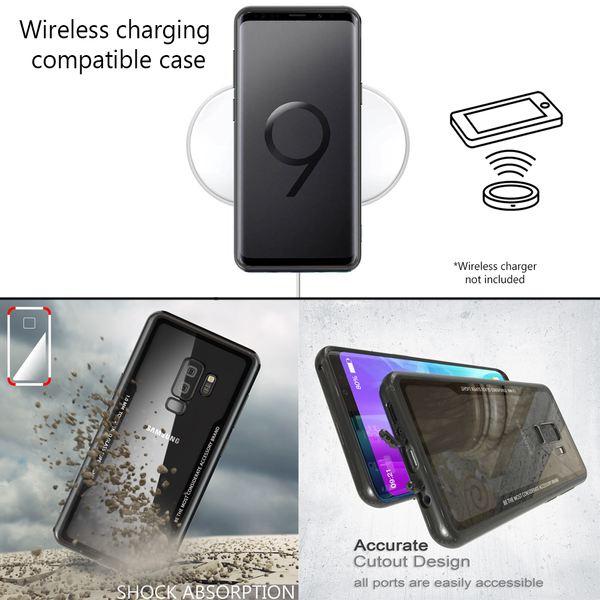 NALIA Hülle kompatibel mit Samsung Galaxy S9 Plus, Ultra-Slim Handyhülle Cover Case Etui Handy-Tasche, Backcover Transparent Schutzhülle Hardcase Klar Dünn Skin Smart-Phone Bumper – Bild 13
