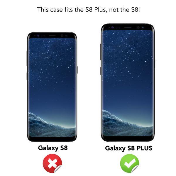 NALIA Klapphülle kompatibel mit Samsung Galaxy S8 Plus, Slim Kickstand Handyhülle Flip-Case Kunst-Leder Cover mit Magnet, Etui Ganzkörper Schutz Dünne Rundum Handy-Tasche Bumper – Bild 19