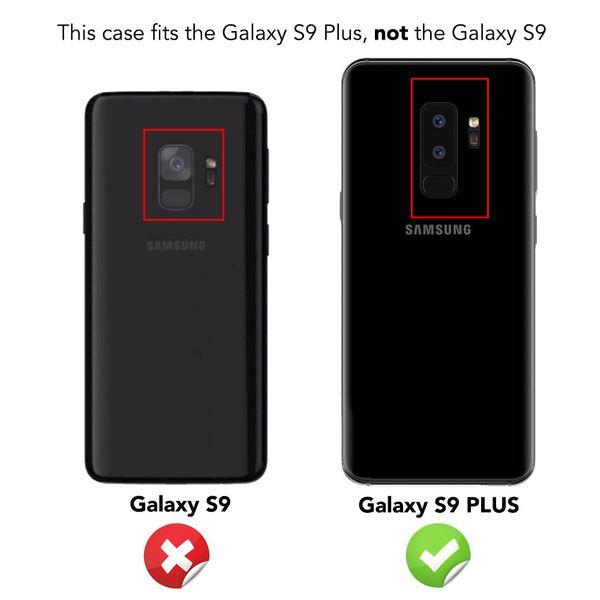NALIA Handyhülle kompatibel mit Samsung Galaxy S9 Plus, Slim Kickstand Handyhülle Flip-Case Kunstleder Cover mit Magnet Etui Ganzkörper Schutz Dünne Rundum Handy-Tasche Etui – Bild 6