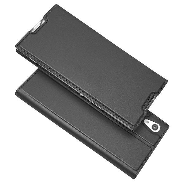 NALIA Klapphülle kompatibel mit Sony Xperia XA1, Slim Kickstand Handyhülle Flip-Case Kunstleder Book-Cover Magnet Etui Ganzkörper Schutz Dünne Back Rundum Handy-Tasche Etui – Bild 15