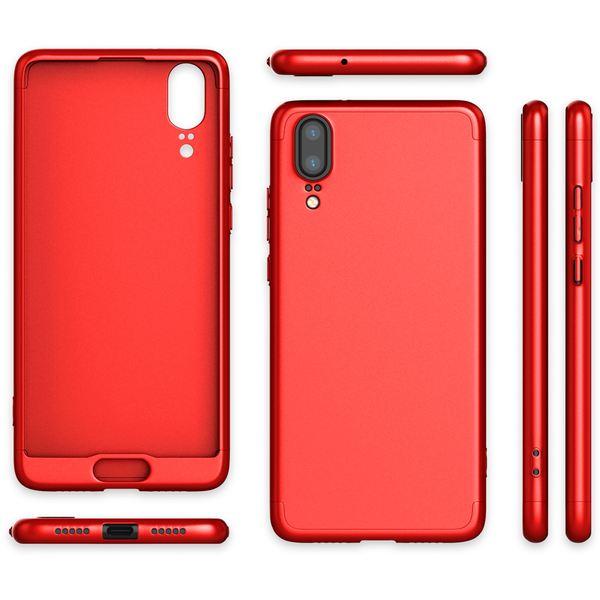 NALIA Rundum Handyhülle für Huawei P20, Cover 360° Grad Hülle Full-Body Doppel-Schutz mit Displayschutzfolie, Slim Bumper Hard-Case 2 in 1 Etui, Rückseite & Rahmen für das P-20 – Bild 19