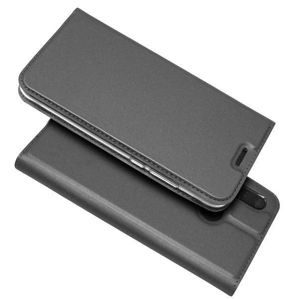 NALIA Klapphülle kompatibel mit Huawei P20 Lite, Slim Kickstand Handyhülle Case Kunstleder Book-Cover mit Magnet, Etui Ganzkörper Schutz Dünne Rundum Handy-Tasche Bumper – Bild 13