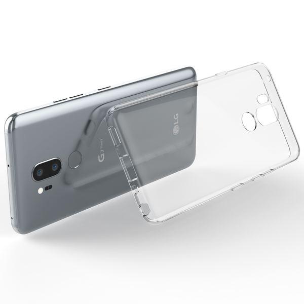 NALIA Handyhülle kompatibel mit LG G7 ThinQ, Soft Slim TPU Silikon Case Cover Crystal Clear Schutzhülle Dünn Durchsichtig, Etui Handy-Tasche Backcover Transparent, Smart-Phone Schutz Bumper – Bild 7