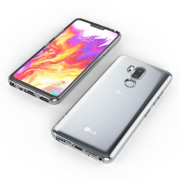 NALIA Handyhülle kompatibel mit LG G7 ThinQ, Soft Slim TPU Silikon Case Cover Crystal Clear Schutzhülle Dünn Durchsichtig, Etui Handy-Tasche Backcover Transparent, Smart-Phone Schutz Bumper – Bild 6