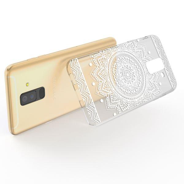 NALIA Handyhülle kompatibel mit Samsung Galaxy A6 Plus, Slim Silikon Motiv Etui Case Schutzhülle Dünn Durchsichtig, Handy-Tasche Back-Cover Transparent Bumper – Bild 23