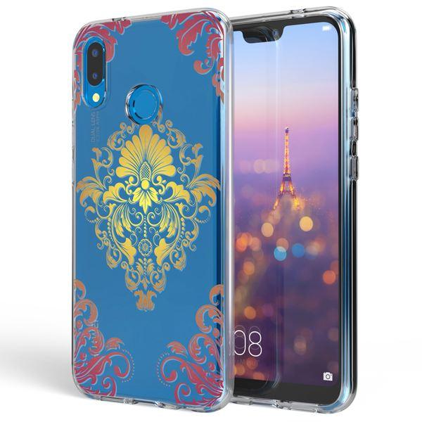 NALIA Handyhülle kompatibel mit Huawei P20 Lite, Slim Silikon Motiv Cover Case Crystal Schutzhülle Dünn Durchsichtig, Etui Handy-Tasche Backcover Transparent Bumper – Bild 8