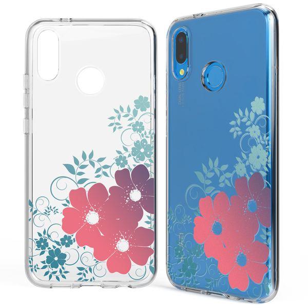 NALIA Handyhülle kompatibel mit Huawei P20 Lite, Slim Silikon Motiv Cover Case Crystal Schutzhülle Dünn Durchsichtig, Etui Handy-Tasche Backcover Transparent Bumper – Bild 16