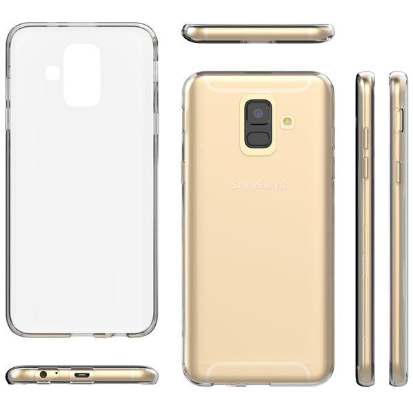 NALIA Handyhülle kompatibel mit Samsung Galaxy A6, Slim Silikon Motiv Case Cover Crystal Schutzhülle Dünn Durchsichtig, Etui Handy-Tasche Backcover Transparent Bumper – Bild 25