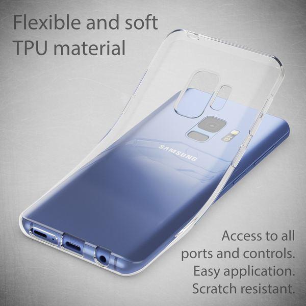 NALIA Handyhülle kompatibel mit Samsung Galaxy S9, Silikon Motiv Crystal Case Schutzhülle Durchsichtig Dünn, Etui Handy-Tasche Back-Cover Transparent Bumper – Bild 11