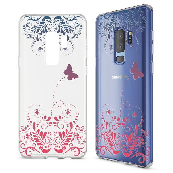 NALIA Handyhülle kompatibel mit Samsung Galaxy S9 Plus, Slim Silikon Motiv Case Schutzhülle Dünn Durchsichtig, Etui Handy-Tasche Back-Cover Transparent Bumper – Bild 9