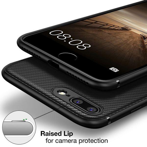 NALIA Hülle kompatibel mit iPhone 8 Plus / 7 Plus, Ultra Slim Handyhülle Silikon Case Cover, Dünne Carbon Look Schutzhülle, Etui Handy-Tasche Backcover Bumper Gummihülle – Bild 11