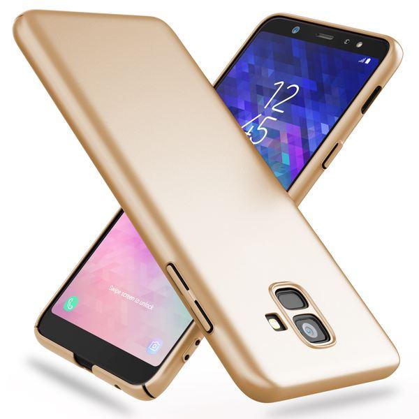 NALIA Hülle kompatibel mit Samsung Galaxy A6, Dünnes Hardcase Handyhülle Schutzhülle Matt, Ultra-Slim Cover Etui Handy-Tasche, Smart-Phone Backcover Skin Bumper Case – Bild 9