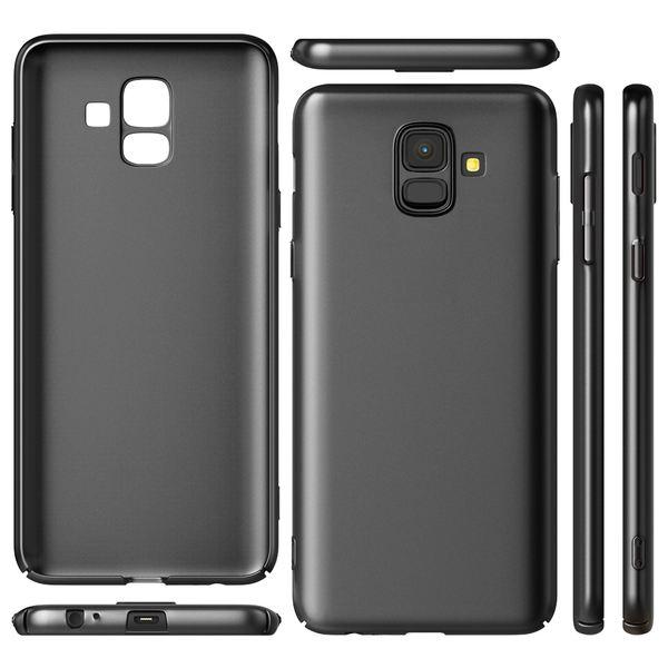 NALIA Hülle kompatibel mit Samsung Galaxy A6, Dünnes Hardcase Handyhülle Schutzhülle Matt, Ultra-Slim Cover Etui Handy-Tasche, Smart-Phone Backcover Skin Bumper Case – Bild 5