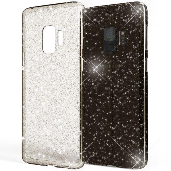 NALIA Glitter Hülle kompatibel mit Samsung Galaxy S9, Glitzer Handyhülle Ultra-Slim Silikon Case Back-Cover Schutz, Bling Sparkle Handy-Tasche Bumper, Dünnes Strass Smartphone Etui – Bild 9