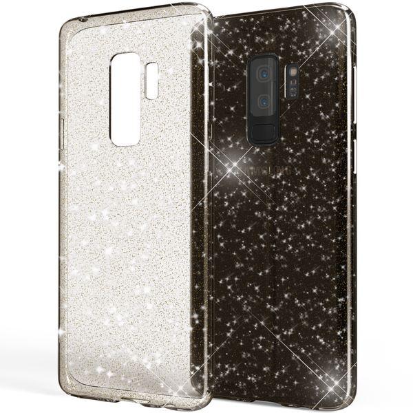 NALIA Glitter Hülle kompatibel mit Samsung Galaxy S9 Plus, Glitzer Handyhülle Ultra-Slim Silikon Case Back-Cover Schutz, Bling Sparkle Handy-Tasche Bumper, Dünnes Strass Phone Etui – Bild 9