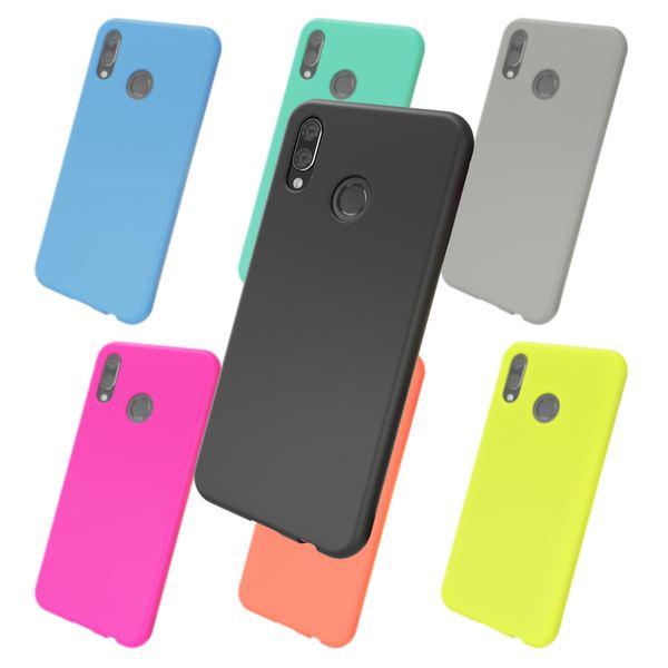 NALIA Hülle kompatibel mit Huawei P20 Lite, Ultra-Slim Handyhülle TPU Silikon Neon Case, Dünnes Phone Cover Gummi Schutzhülle Skin, Etui Handy-Tasche Backcover Smartphone Bumper – Bild 1