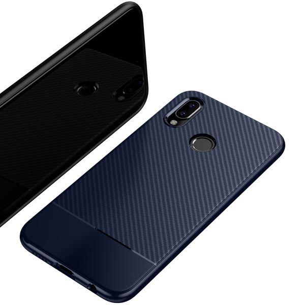 NALIA Hülle kompatibel mit Huawei P20 Lite, Ultra-Slim Handyhülle Soft Silikon Case, Dünne Carbon Look Schutzhülle, Etui Handy-Tasche Back-Cover Bumper, TPU Smart-Phone Gummihülle – Bild 13