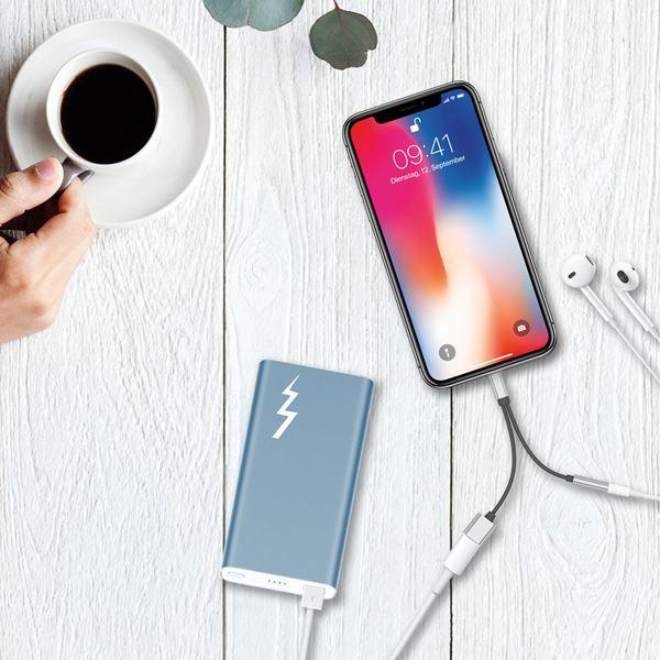 NALIA 2in1 Audio Adapter kompatibel mit Apple Geräten (iPhone, iPad, iPod), mit 3.5mm Klinken-Stecker, Parallel Laden + Musik-Hören, für Kopfhörer & Lautsprecher, Mehr-Funktion – Bild 24