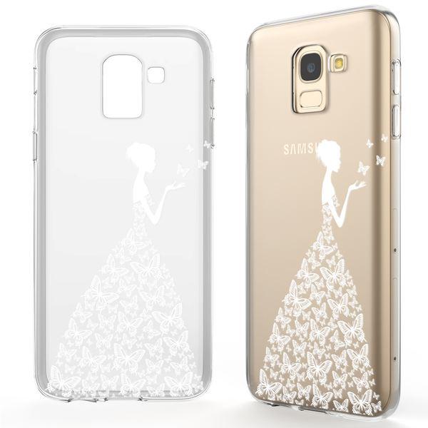 NALIA Hülle kompatibel mit Samsung Galaxy J6 (2018), Slim Handyhülle Motiv Silikon Case Cover Crystal Schutzhülle Dünn, Muster Etui Handy-Tasche Backcover Bumper – Bild 11
