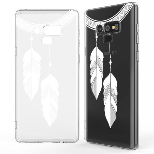NALIA Hülle kompatibel mit Samsung Galaxy Note 9, Slim Handyhülle Motiv Silikon Case Cover Crystal Schutzhülle Dünn, Muster Etui Handy-Tasche Backcover Phone Bumper – Bild 16