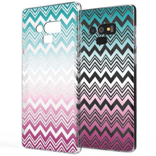 NALIA Hülle kompatibel mit Samsung Galaxy Note 9, Slim Handyhülle Motiv Silikon Case Cover Crystal Schutzhülle Dünn, Muster Etui Handy-Tasche Backcover Phone Bumper – Bild 20