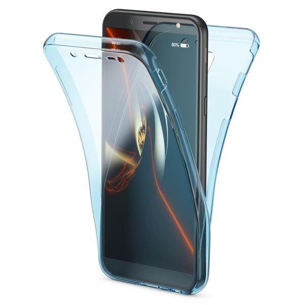 NALIA 360 Grad Handyhülle kompatibel mit Samsung Galaxy J6, Hülle Full Cover vorne & hinten Doppel-Schutz, Dünnes Ganzkörper Case Silikon, Transparenter Displayschutz & Rückseite  – Bild 20