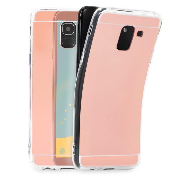 NALIA Spiegel Hülle kompatibel mit Samsung Galaxy J6 (2018), Slim Handyhülle Mirror TPU Silikon Case, Dünne Schutzhülle Back-Cover verspiegelt, Handy-Tasche Bumper Smart-Phone Etui – Bild 12