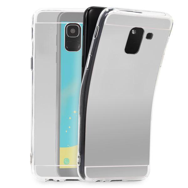 NALIA Spiegel Hülle kompatibel mit Samsung Galaxy J6 (2018), Slim Handyhülle Mirror TPU Silikon Case, Dünne Schutzhülle Back-Cover verspiegelt, Handy-Tasche Bumper Smart-Phone Etui – Bild 5