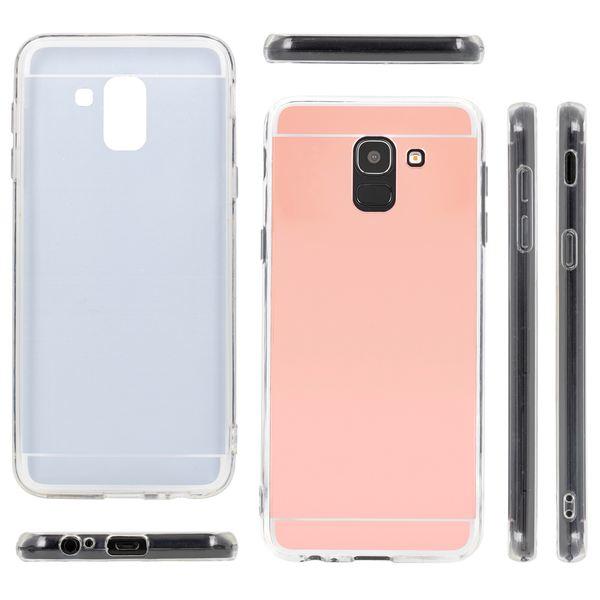 NALIA Spiegel Hülle kompatibel mit Samsung Galaxy J6 (2018), Slim Handyhülle Mirror TPU Silikon Case, Dünne Schutzhülle Back-Cover verspiegelt, Handy-Tasche Bumper Smart-Phone Etui – Bild 8