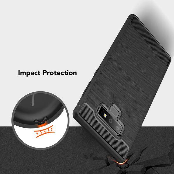 NALIA  Hülle kompatibel mit Samsung Galaxy Note 9, Ultra-Slim Handyhülle Silikon Case Cover, Dünne Crystal Phone Schutzhülle, Stoßfestes Etui Handy-Tasche Back-Cover Bumper – Bild 4