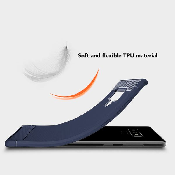 NALIA  Hülle kompatibel mit Samsung Galaxy Note 9, Ultra-Slim Handyhülle Silikon Case Cover, Dünne Crystal Phone Schutzhülle, Stoßfestes Etui Handy-Tasche Back-Cover Bumper – Bild 12