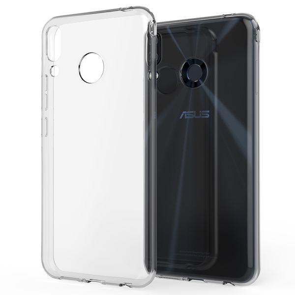 NALIA Hülle für Asus ZenFone 5 / 5Z, Soft TPU Silikon Handyhülle Case Cover Crystal Clear, Dünne Durchsichtige Etui Handy-Taschen Schutzhülle, Transparent Phone Back-Cover Bumper für ZenFone 5 / 5Z – Bild 1