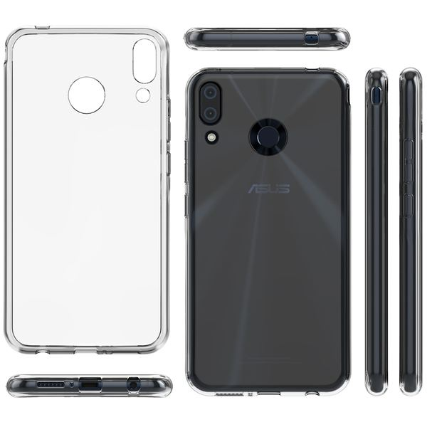 NALIA Hülle für Asus ZenFone 5 / 5Z, Soft TPU Silikon Handyhülle Case Cover Crystal Clear, Dünne Durchsichtige Etui Handy-Taschen Schutzhülle, Transparent Phone Back-Cover Bumper für ZenFone 5 / 5Z – Bild 7