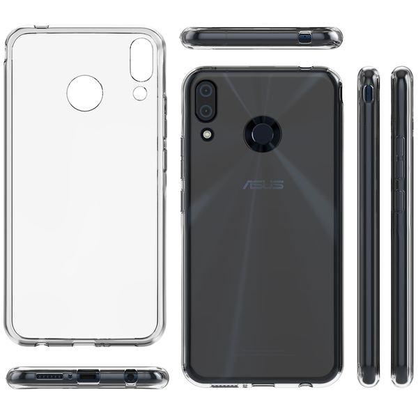 NALIA Hülle kompatibel mit Asus ZenFone 5 / 5Z, Soft TPU Silikon Handyhülle Case Cover Crystal Clear, Dünne Durchsichtige Etui Handy-Taschen Schutzhülle, Transparent Phone Back-Cover Bumper – Bild 7