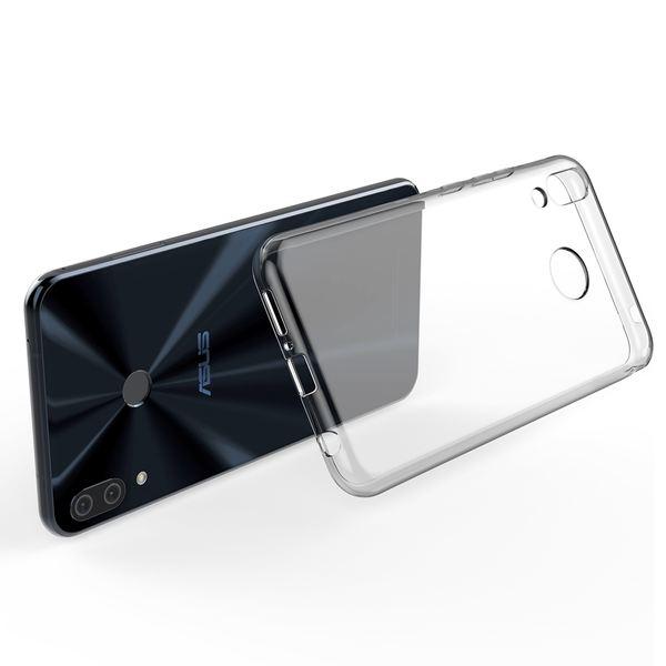 NALIA Hülle für Asus ZenFone 5 / 5Z, Soft TPU Silikon Handyhülle Case Cover Crystal Clear, Dünne Durchsichtige Etui Handy-Taschen Schutzhülle, Transparent Phone Back-Cover Bumper für ZenFone 5 / 5Z – Bild 3