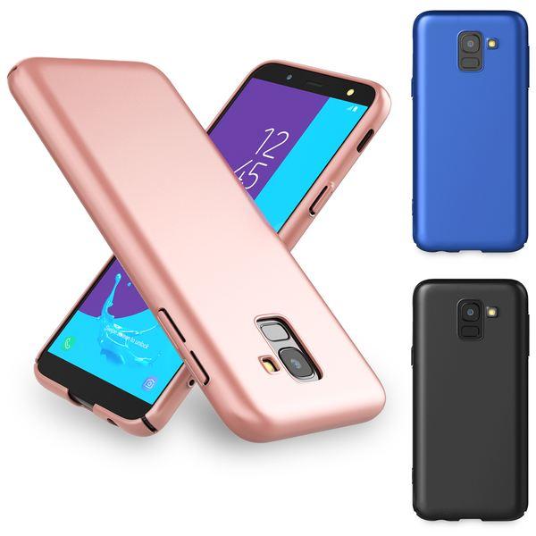 NALIA Handyhülle kompatibel mit Samsung Galaxy J6, Hülle Dünne Leichte Matt Hardcase Case Schutzhülle, Ultra-Slim Cover Etui Handy-Tasche, Smart-Phone Backcover Skin Bumper – Bild 1