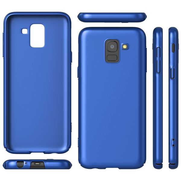 NALIA Handyhülle kompatibel mit Samsung Galaxy J6, Hülle Dünne Leichte Matt Hardcase Case Schutzhülle, Ultra-Slim Cover Etui Handy-Tasche, Smart-Phone Backcover Skin Bumper – Bild 14