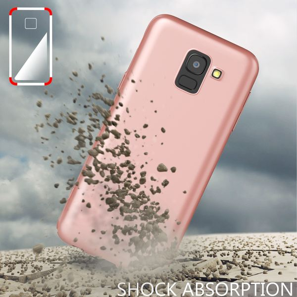 NALIA Handyhülle kompatibel mit Samsung Galaxy J6, Hülle Dünne Leichte Matt Hardcase Case Schutzhülle, Ultra-Slim Cover Etui Handy-Tasche, Smart-Phone Backcover Skin Bumper – Bild 20