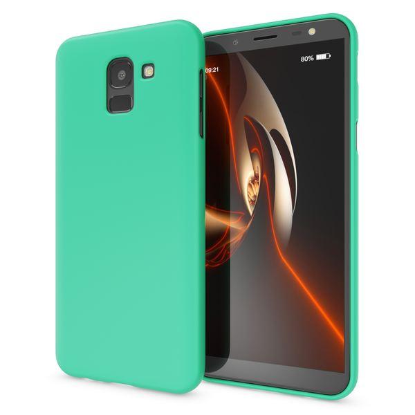 NALIA Handyhülle kompatibel mit Samsung Galaxy J6, Ultra-Slim TPU Silikon Hülle Neon Case, Dünnes Cover Gummi Schutzhülle Skin, Etui Handy-Tasche Backcover Bumper – Bild 12