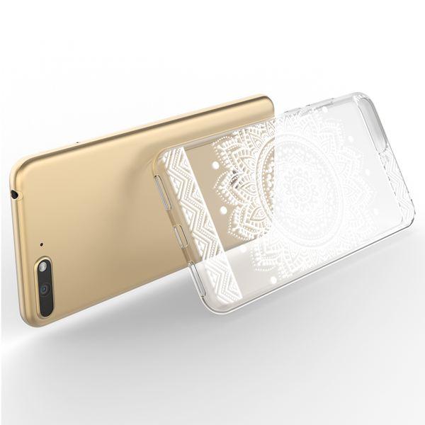 NALIA Hülle kompatibel mit Huawei Y6 (2018), Ultra-Slim Handyhülle Silikon Motiv Case Crystal Schutzhülle Dünn Durchsichtig Handy-Tasche Backcover Transparent Bumper – Bild 18