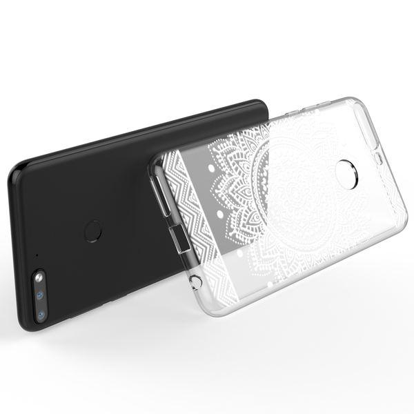 NALIA Hülle kompatibel mit Huawei Y7 2018, Ultra-Slim Handyhülle Silikon Motiv Case Crystal Schutzhülle Dünn Durchsichtig, Etui Handy-Tasche Back-Cover Transparent Bumper – Bild 18