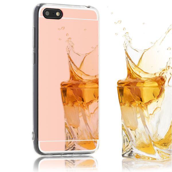 NALIA Spiegel Hülle kompatibel mit Huawei Y5 (2018), Ultra-Slim Mirror Case Cover Silikon Schutzhülle, Dünne Handyhülle Backcover verspiegelt, Handy-Tasche Smart-Phone Etui – Bild 8
