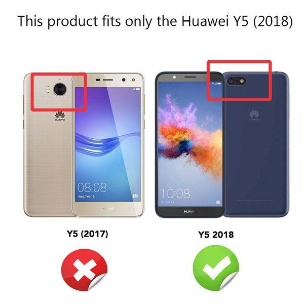 NALIA Spiegel Hülle kompatibel mit Huawei Y5 (2018), Ultra-Slim Mirror Case Cover Silikon Schutzhülle, Dünne Handyhülle Backcover verspiegelt, Handy-Tasche Smart-Phone Etui – Bild 4