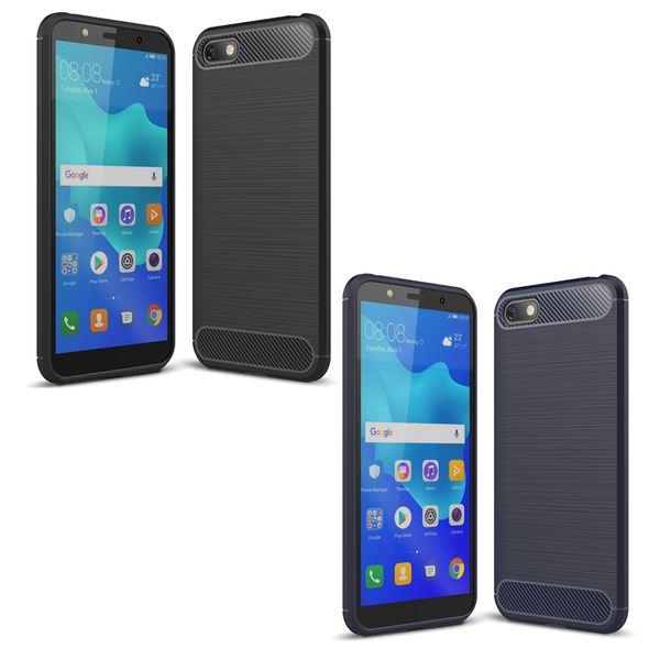 NALIA Handyhülle kompatibel mit Huawei Y5 (2018), Ultra-Slim Hülle Soft Silikon Case, Dünne Crystal Phone Schutzhülle, Handy-Tasche Back-Cover TPU Bumper Schutz Smartphone Etui – Bild 1